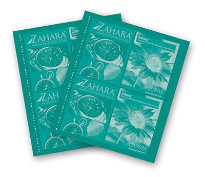 Zahara Waterless Plates
